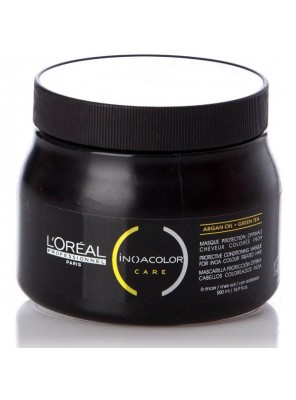 L'Oreal Professionnel INOACOLOR Care Argan Oil Green Tea No Sulfate Masque (500ml)