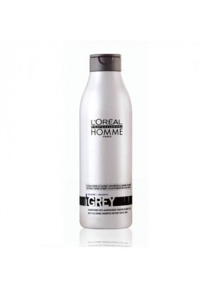 L'Oreal Professionnel Homme Grey Shampoo (250ml)