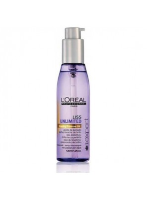 L'OREAL PROFESSIONNEL SERIE EXPERT LISS UNLIMITED OIL (125ml)
