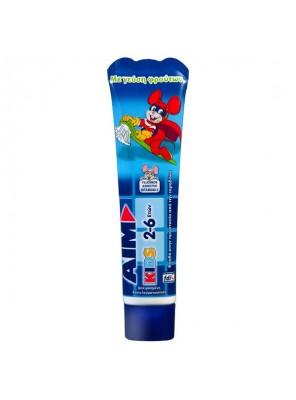 Οδοντόκρεμα Παιδική Aim Για 2-6 ετών (50ml)