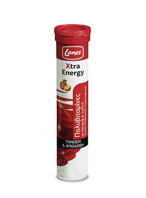 Lanes EFF Mult xtra Energy Grapef 20tabs
