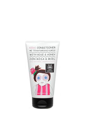 APIVITA - KIDS Παιδικό Conditioner με τριαντάφυλλο & μέλι - 150ml