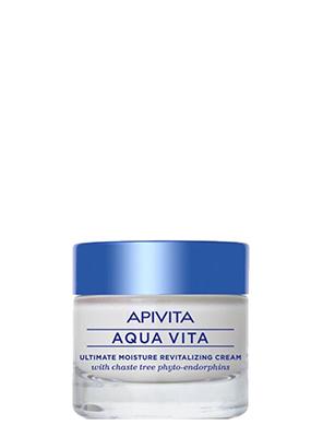 APIVITA AQUA VITA Κρέμα Εντατικής Ενυδάτωσης για Λιπαρές-Μικτές Επιδερμίδες 50ML