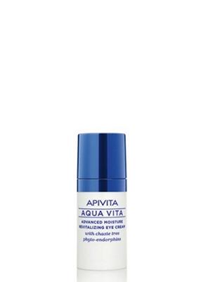 APIVITA Aqua Vita Advanced Moisture Revitalizing Eye Cream Κρέμα Ματιών με Φυτοενδορφίνες Λυγιαριάς 15ml