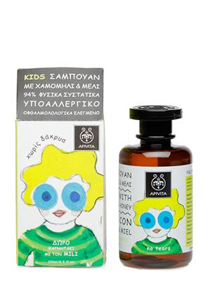 Apivita Kids Σαμπουάν με Χαμομήλι και Μέλι 250ml