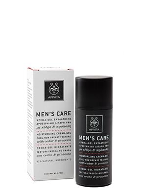 Apivita Men's Care Κρέμα-Gel Ενυδάτωσης με Κέδρο και Προπόλη 50ml