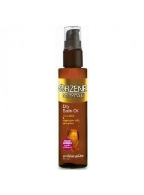 Λάδι Μαλλιών Οrzene Dry Satin Oil Για Προστασία Χρώματος % Επανόρθωση (100ml)