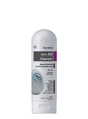 Frezyderm καθαριστικό ευαίσθητης περιοχής, με πρεβιοτικά & εχινάκεια, pH 5.0 (200ml)