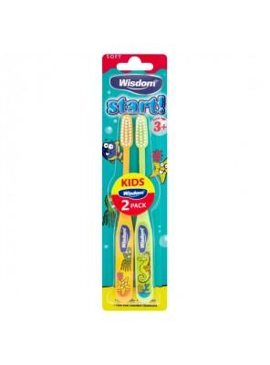 Οδοντόβουρτσα Παιδική Wisdom Start 3+