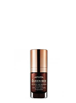 Apivita Queen Bee Kρέμα Ματιών Ολιστικής Αντιγήρανσης με Βασιλικό Πολτό σε Λιποσώματα 15ml