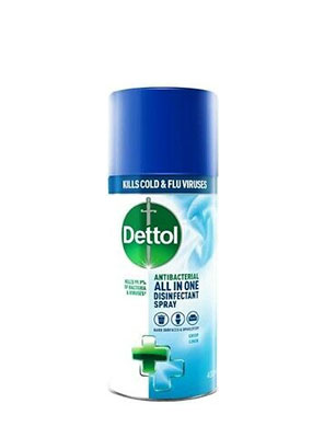 DETTOL ALL IN ONE ANTIBACTERIAL SPRAY 400ML