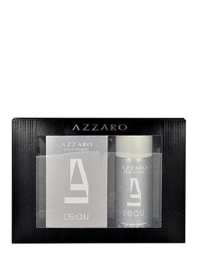 azzaro pour homme l'eau edt 50ml gift set