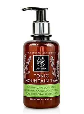 Apivita Tonic Mountain Tea Moisturizing Body Milk, Ενυδατικό Γαλάκτωμα Σώματος 200ml