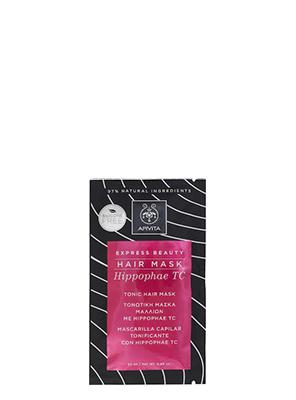 Apivita Tonic Hair Mask Express Beauty Τονωτική Μάσκα Μαλλιών με Hippophae TC, 20ml