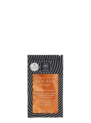 APIVITA Express Beauty Hair Mask Orange Shine & Revitalizing 20ml