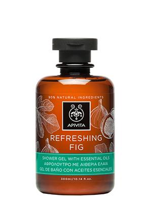 Apivita Refresing Fig Αφρόλουτρο με Αλόη & Σύκο 300ml