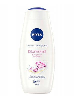 nivea cream diamond & argan oil 750ml