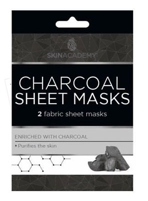 charcoal sheet masks 2τμχ.