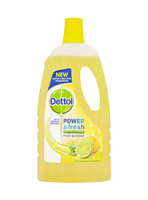 DETTOL P&F FLOOR CLEANER CITRUS 1L