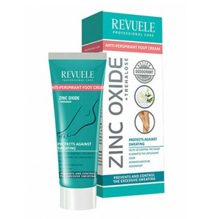 REVUELE  ANTI-PERSPIRANT FOOT CREAM 80ml