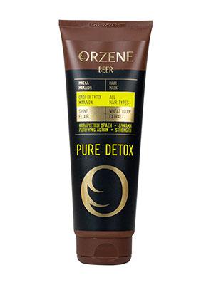 orzene pure detox mask 250ml