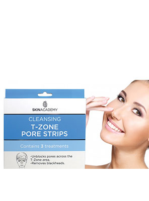 Skin Academy T-Zone Pore Strips 3τμχ.
