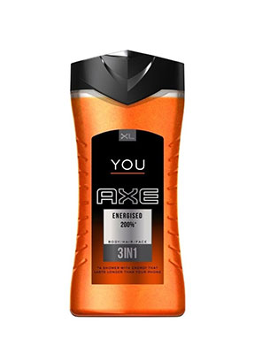 axe shower gel energised 400ml