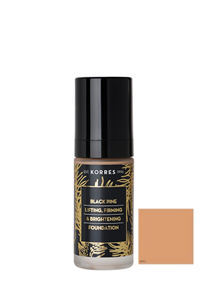 KORRES BLACK PINE FOUNDATION FDT 4 30ML