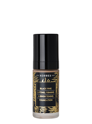 KORRES BLACK PINE FOUNDATION FDT 3  30ML