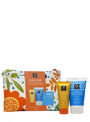 APIVITA SUN LIGHT CREAM SPF30 50ML + AFTER SUN 100ML