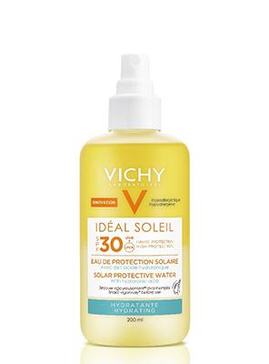 VICHY Ideal Soleil Αντηλιακό Νερό Προστασίας Με Υαλουρονικό Οξύ SPF30 200ml
