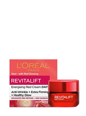 L'Oreal Revitalift Energising Red Cream 50ml