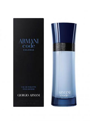 armani code colonia eau de toilette 75ml