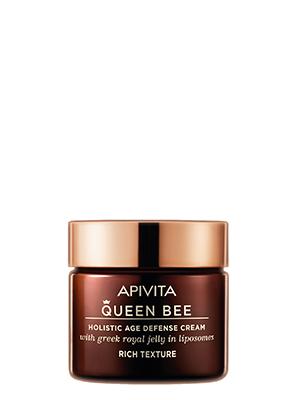 Apivita Queen Bee Κρέμα Ημέρας Ολιστικής Αντιγήρανσης Πλούσιας Υφής 50ml