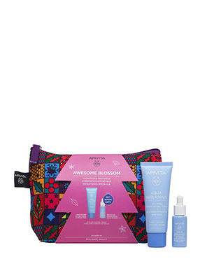 Apivita Set Awesome Blossom Aqua Beelicious Gift Set