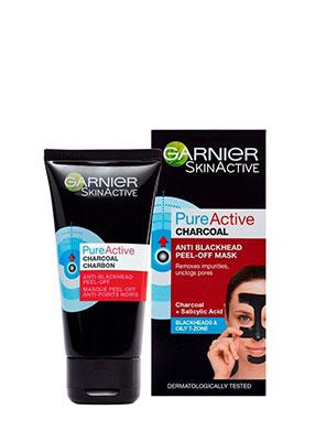 garnier pure active charcoal Peel-off-Mask 50ml