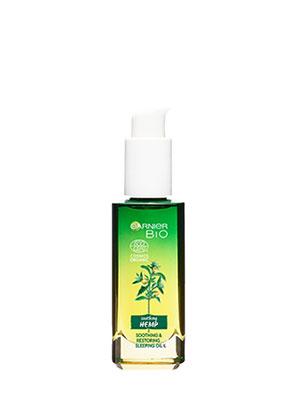 Garnier Bio Soothing Hemp Night Soothing & Restoring Sleeping Oil 30ml