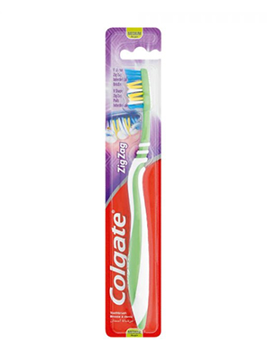 COLGATE T/BRUSH ZIG-ZAG MEDIUM