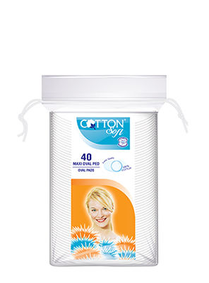 COTTON SOFT ΔΙΣΚΟΙ ΝΤΕΜΑΚΙΓΙΑΖ OVAL 40ΤΕΜ