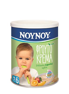 NOYNOY ΚΡΕΜΑ 3 ΦΡΟΥΤΑ 300GR -1,00€