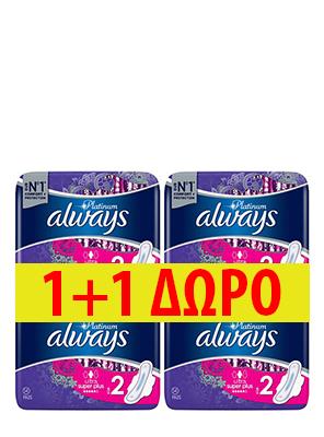 ALWAYS PLATINUM SUPER 14ΤΕΜ 1+1