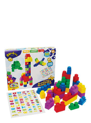 CBEEBIES ALPHABET BLOCK SET