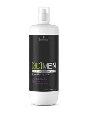 3D MEN ACTIVATING SHAMPOO 1000ML