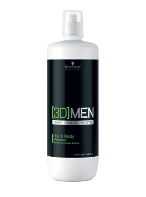 3D MEN HAIR & BODY SHAMPOO 1L