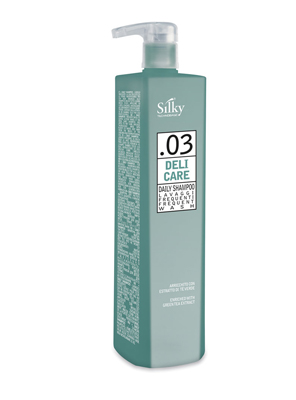 SILKY TECHNOBASIC DAILY SHAMPOO (1000ML)